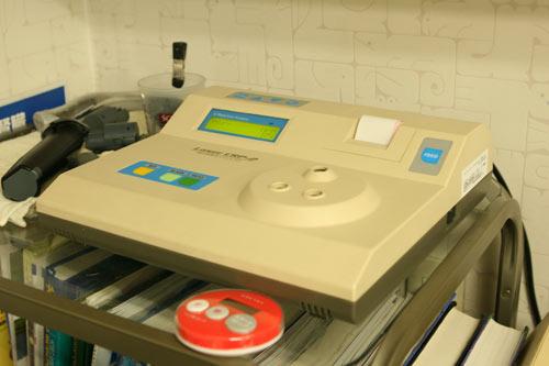 CRP(急性炎症性タンパク)測定器